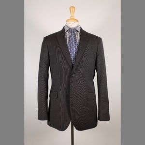 Banana Republic 42R Gray/Brown 2B Sport Coat Y917